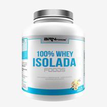 100% Whey Isolada Foods 2kg Baunilha  BRNFOODS - Brn Foods