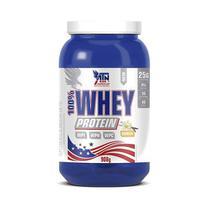 100% whey protein atn 908g - baunilha -