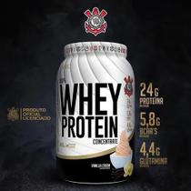 100% whey protein concentrate corinthians  900g - baunilha - Forster Nutrition