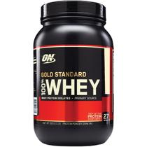 100 whey protein gold standard (909g) choc e men - optimum nutrition