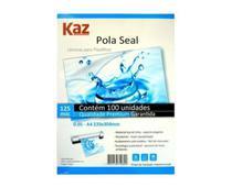 100X Laminas para Plastificar Pola Seal P/ A4 - Kaz