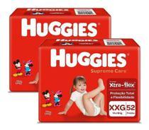 104 Fraldas Huggies Supreme Care Tamanho Xxg Disney -