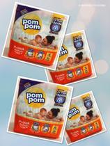 104 fraldas Pompom- Tamanho G- 4 pacotes -