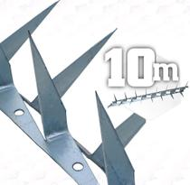 10m Lança Dupla para muro espeto cortante 2mm - 10 metros - JJ