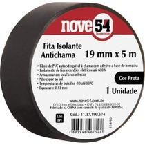 10und Fita Isolante 19 mm x 5 m Preta - Nove54 -
