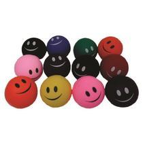 12 Bolas Bolinha Anti Stress Lisa Fisioterapia Massageadora Com Desenho - Gallina