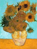 12 Girassóis - Vincent van Gogh - Tela 50x63 Para Quadro - Santhatela