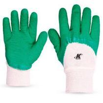 12 Pares Luva Nitrilon Verde Confortex Kalipso Ca 11127 - VERDE - 09-G -