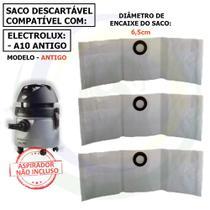 12 Saco Descartável para Aspirador de Pó Electrolux A10 Antigo a10sc -
