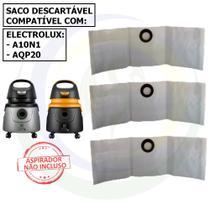 12 Saco Descartável para Aspirador de Pó Electrolux A10N1 - AQP20 -