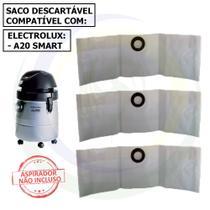 12 Saco Descartável para Aspirador de Pó Electrolux A20 Smart -