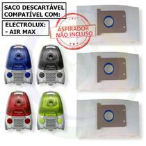 12 Saco Descartável para Aspirador de Pó Electrolux Air Max -