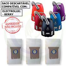 12 Saco Descartável para Aspirador de Pó Electrolux Berry -