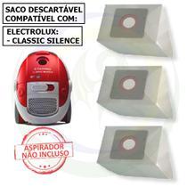 12 Saco Descartável para Aspirador de Pó Electrolux Classic Silence -