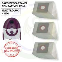 12 Saco Descartável para Aspirador de Pó Electrolux Go! -