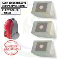 12 Saco Descartável para Aspirador de Pó Electrolux Nano -