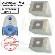 12 Saco Descartável para Aspirador de Pó Electrolux Sonic -