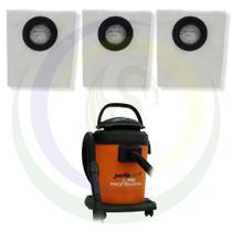12 Saco Descartável para Aspirador de Pó Jacto Clean 20L AJ2220 -