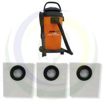 12 Saco Descartável para Aspirador de Pó Jacto Clean 20L AJ3230 -