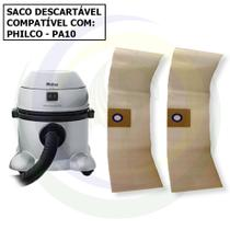 12 Saco Descartável para Aspirador de Pó Philco PA 10 -