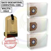 12 Saco Descartável para Aspirador de Pó Philips Walita Oslo -