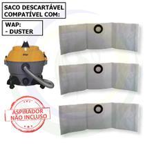 12 Saco Descartável para Aspirador de Pó Wap Duster -