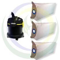 12 Saco Descartável para Aspirador Pó Karcher Modelos: A2003 / A2004 / A2003 Plus -