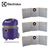 12 Sacos Descartável Para Aspirador de Pó Electrolux Flex 1400w -
