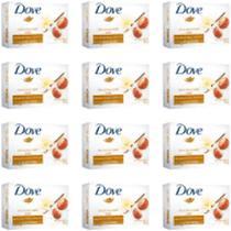 12 UNIDADES Sabonete Neutro Dove Delicious Care - 90g -