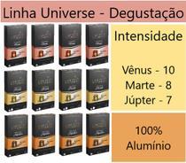 120 Cápsulas de Alumínio Marte / Vênus / Júpiter - Misto - Compatível com Nespresso - Café Roccaporena