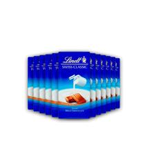 12x Chocolate Lindt Swiss Classic ao Leite 100g