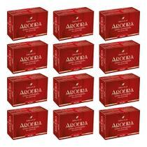 12x sabonete de aroeira óleo palmiste perfeito para deixar a pele perfumada limpa e protegida 100g - Arte Nativa