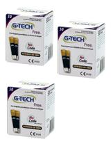 150 Tiras De Glicemia P/ G-tech Free E Free Smart -