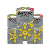 18 Pilhas Auditivas Rayovac Tamanho 10 / Pr70 / A10 -