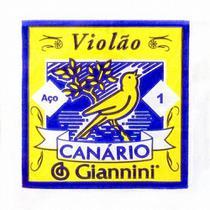 1ª Corda de Aço para Violão Giannini GESWB1 - Canario