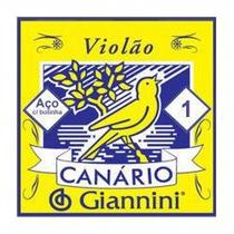 1ª CORDA P/ VIOLAO GESWB1 GIANNINI ACO - Canario