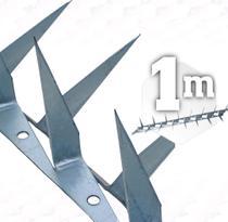 1m Lança Dupla para muro espeto cortante 2mm - 1 metro - JJ