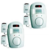2 Alarmes com Sensor de Presença Sem Fio - DNI 6060 - Key west