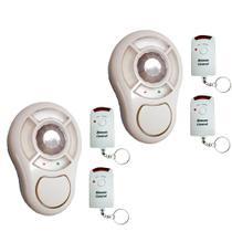 2 Alarmes Sem Fio com Sensor e 2 Controles - DNI 6062 - Key West
