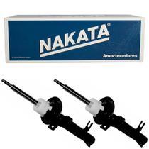2 Amortecedor Ford Fiesta 2003 a 2014 Dianteiro Nakata -