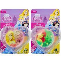 2 Bolinhas Pula Pula Aurora E Sereia Ariel Princesas Disney - Dtc