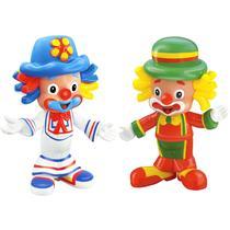 2 Bonecos Patati E Patatá De Vinil Original 2403 - Líder Brinquedos -