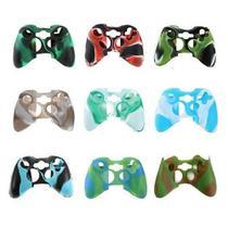 2 Capa Silicone P/ Controle Xbox 360 variados -