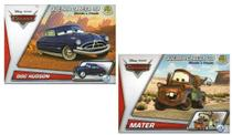 2 Disney Quebra Cabeça 3D Movido a Fricção Doc Hudson+ Mater - Dtc