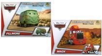 2 Disney Quebra Cabeça 3D Movido a Fricção Fillmore + Mack - Dtc
