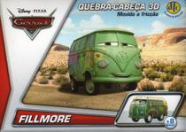 2 Disney Quebra Cabeça 3D Movido a Fricção Fillmore + Red - Dtc
