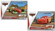 2 Disney Quebra Cabeça 3D Movido a Fricção Francesco+McQueen - Dtc
