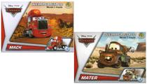 2 Disney Quebra Cabeça 3D Movido a Fricção Mack +  Mater - Dtc