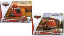 2 Disney Quebra Cabeça 3D Movido a Fricção Mack + Red - Dtc