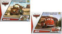 2 Disney Quebra Cabeça 3D Movido a Fricção Mater +  Red - Dtc
